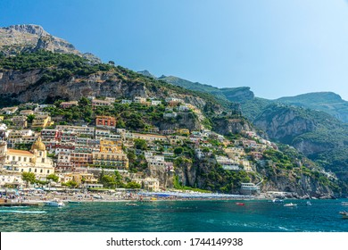 Village of Positano, Amalfi Coast, Italy, Europe