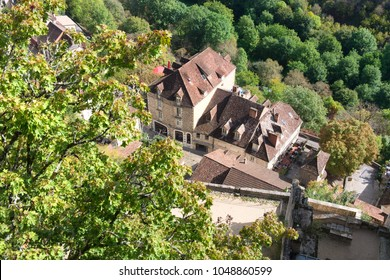 Village Rocamadour in the French Rocamadour