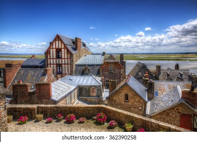 From the Village of Saint Michael's Mount, Normandy, France