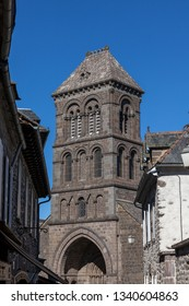 Village of Salers, Cantal, France