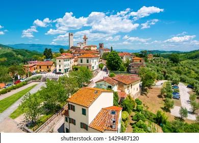 Village Serravalle Pistoiese in Italy