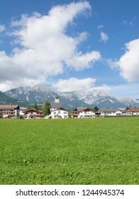 Village of Soell in Tirol,Austria