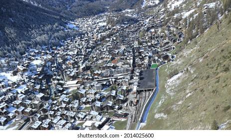 Village of Switzerland(Zermatt, Stein Am Rhein) - Shutterstock ID 2014025600