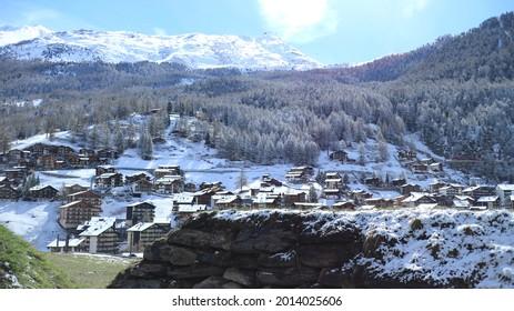 Village of Switzerland(Zermatt, Stein Am Rhein) - Shutterstock ID 2014025606