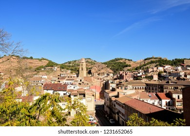village of  Tamarite de Litera, Huesca province, Aragon, Spain