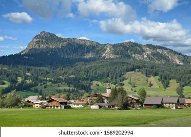 Village of Tannheim in Tannheimer Tal,Tirol,Austria