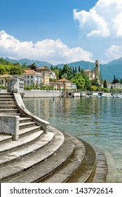 Village of Tremezzo at Lake Como,Lombardy,Italy