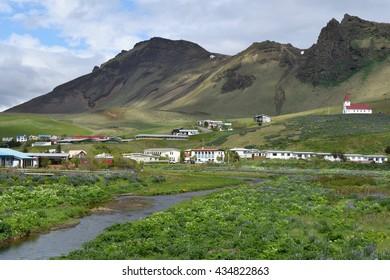 Village of Vik, Iceland