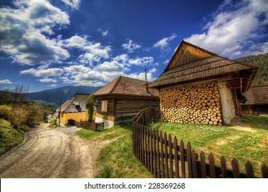 From the Village of Vlkolinec, Slovakia