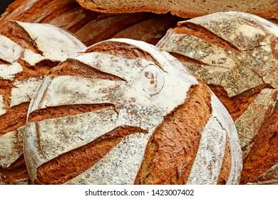 Villarceaux, France organic farmhouse bread