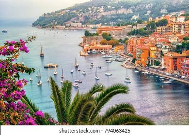 Villefranche sur Mer between Nice and Monaco