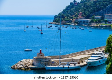 Villefranche-sur-Mer is a charming place. French Riviera. Cote d'Azur