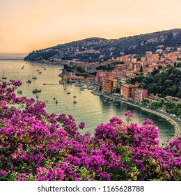 Villefranche-Sur-Mer on the French Riviera