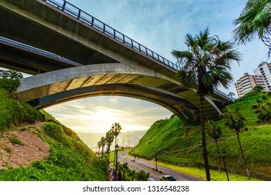 Villena Bridge, MIraflores Lima Peru