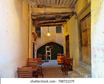 Villerfranche street restaurant