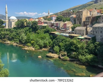 The villiage of Mostar, Bosnia and Herzegovina