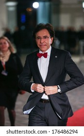 Vilnius, Lithuania - NOV. 28: Prime Minister of Belgium Elio Di Rupo is walking on the red carpet at a during Eastern Partnership Summit in Vilnius. November 28, 2013 in Vilnius, Lithuania.