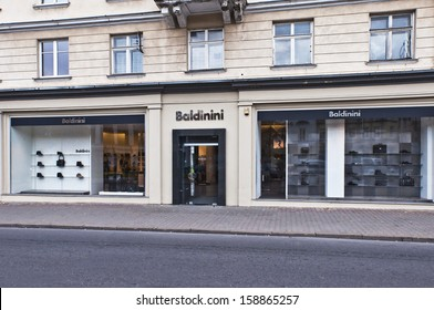 VILNIUS, LITHUANIA - OCTOBER 14: BALDINI store on October 14, 2013 in Vilnius, lithuania.