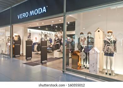 7ea325ce VILNIUS, LITHUANIA, OCTOBER 24: VERO MODA store on October 24, 2013 in