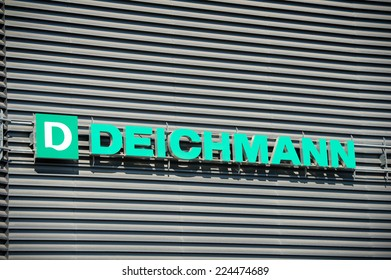 Deichmann Mainz cologne germany october 2017 microsoft logo stock photo royalty