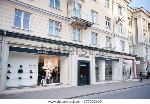 Vilnius Oct 28 Baldinini Store On Stock Photo (Edit Now