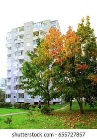 Vilnius residential houses in Pasilaiciai districtt.