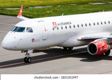 Vilnius/Lithuania 2015-05-14 (LY-LTF)  Embraer ERJ-170  Air Lituanica