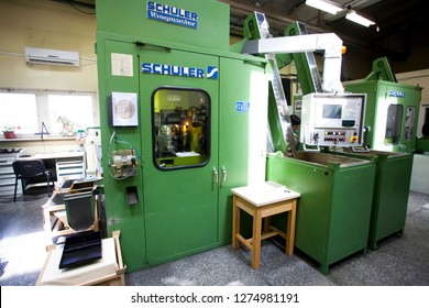 Coin Minting Machine Images, Stock Photos & Vectors