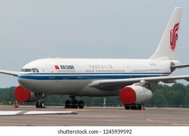 Vilnius/Lithuania June 2, 2014 Air China Airbus A330-243