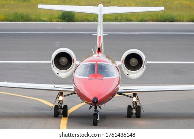 Vilnius/Lithuania June 20, 2020 D-CCCB Learjet 35A (DRF Luftrettung (German Air Rescue)
