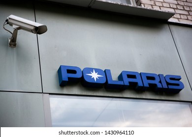 Vilnius/Lithuania June 21,2019  Polaris Industries is an American manufacturer of snowmobiles, ATV, and neighborhood electric vehicles.
