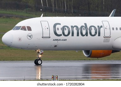 Vilnius/Lithuania May 2, 2020 D-AIAF CONDOR AIRBUS A321-200