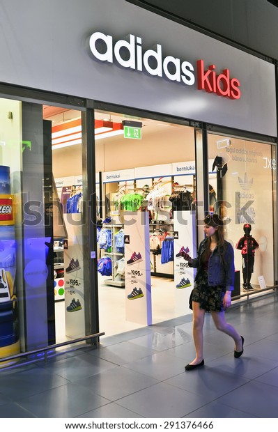 11adidas Kids Store On June Stock Photo
