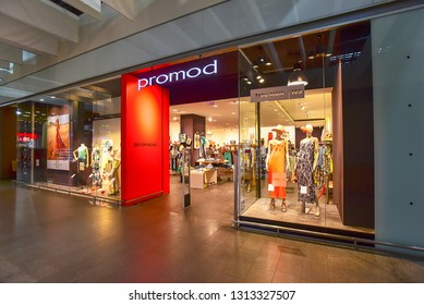 Vilnius,Lithuania-June 15,2018: PROMOD fashion store.