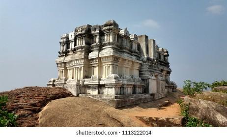 Vimana structure of the Main Sanctum, Chitharaal Jain Temple.