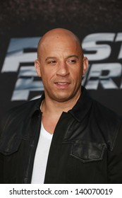 "Vin Diesel at the ""Fast And Furious 6"" Los Angeles Premiere, Gibson Amphitheatre, Universal City, CA  05-21-13"