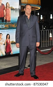 """Vince Vaughn at the American premiere of his new movie """"Couples Retreat"""" at Mann's Village Theatre, Westwood. October 5, 2009  Los Angeles, CA Picture: Paul Smith / Featureflash"""