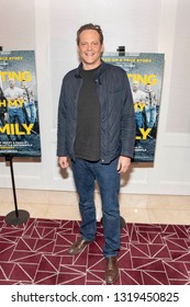 """Vince Vaughn attends """"Fighting With My Family"""" Los Angeles Tastemaker Screening at The London West Hollywood Hotel, Los Angeles, CA on February 20th, 2019"""