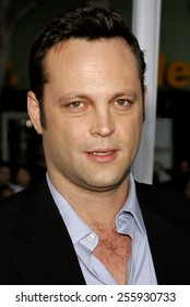 """Vince Vaughn attends the Los Angeles Premiere of """"The Break-Up"""" held at the Mann Village Theatre in Westwood, California, United States on May 22, 2006."""