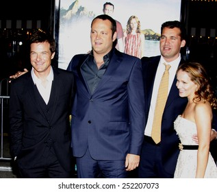 "Vince Vaughn at the Los Angeles Premiere of ""Couples Retreat"" held at the Mann Village Theater in Westwood, California, United States on October 5, 2009."
