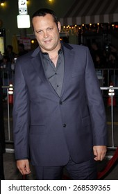 Vince Vaughn at the Los Angeles premiere of 'Couples Retreat' held at the Mann's Village Theatre in Westwood on October 5, 2009.