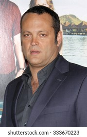 """Vince Vaughn at the Los Angeles Premiere of """"Couples Retreat"""" held at the Mann Village Theater in Westwood, California, United States on October 5, 2009."""