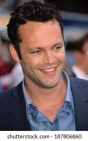 Vince Vaughn at the premiere of MADE, NYC, 7/10/01