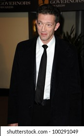 Vincent Cassel  at the  2nd Annual Academy Governors Awards, Kodak Theater, Hollywood, CA.  11-14-10