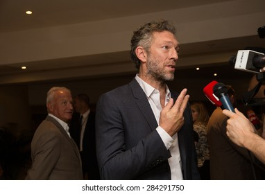 Vincent Cassel attends the 'Il Racconto Dei Racconti' ('Tale of Tales') photocall during the 68th annual Cannes Film Festival on May 14, 2015 in Cannes, France.