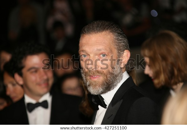 Vincent Cassel attends the 'It's Only The End Of The World (Juste La Fin Du Monde)' Premiere during the 69th annual Cannes Film Festival at the Palais on May 19, 2016 in Cannes, France.