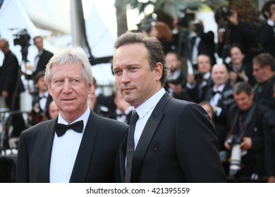 Vincent Perez attends the screening of 'Loving' at the annual 69th Cannes Film Festival at Palais des Festivals on May 16, 2016 in Cannes, France.