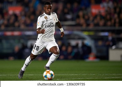 Vinicius Junior of Real Madrid during the Spanish Cup (King's cup), first leg semi-final match between FC Barcelona and  Real Madrid at Camp Nou stadium on February 6, 2019 in Barcelona, Spain.