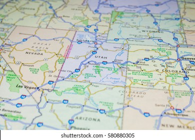 washington state road map Images, Stock Photos & Vectors | Shutterstock