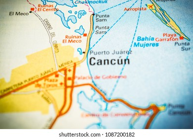 puerto juarez cancun map Map Cancun Images Stock Photos Vectors Shutterstock puerto juarez cancun map